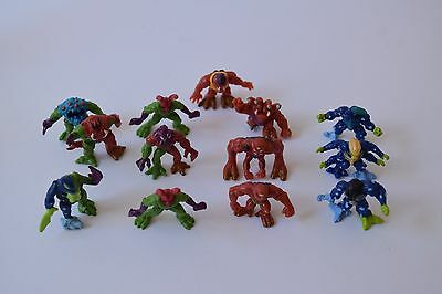 Fistful of Aliens figures and Green Pod toy Rare Yes Entertainment c1997