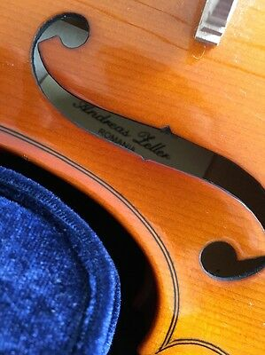 Andreas Zeller Violin 4/4 Size And Carry Case