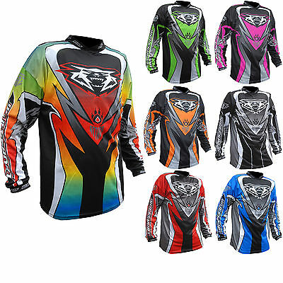Wulfsport Attack 2017 Junior Kids Cub Jersey MX Motocross Off Road Quad