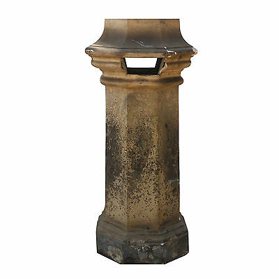 Fantastic Antique Terra Cotta Chimney Pot, Early 1900's, NMI58