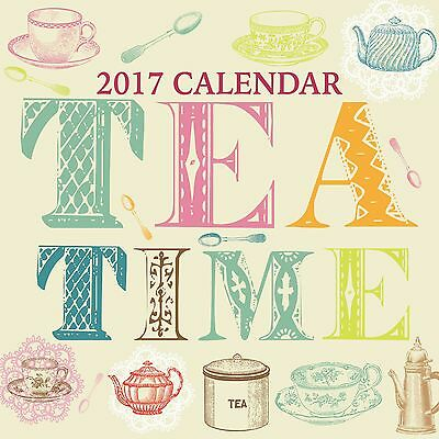 Tea Time Calendar 2017 with free pull out planner