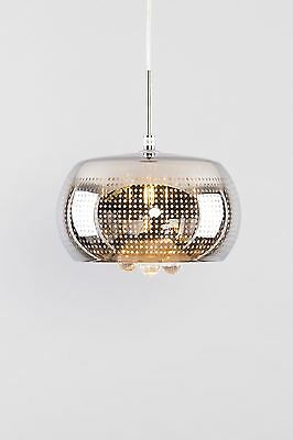 Chandelier with hanging glass ceiling light ideal for living room, kitchen