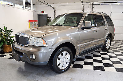 2003 Lincoln Aviator  2003 AWD Luxury Certified Rebuildable Car Repairable Damaged Wrecked
