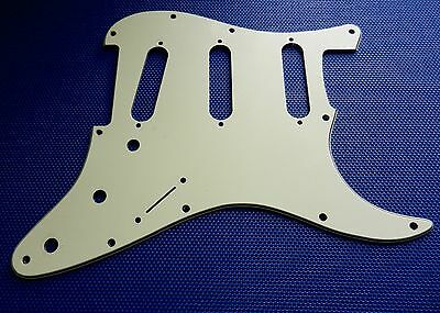 Fender Deluxe Roadhouse Stratocaster Strat PICKGUARD Guitar Mint Green 3 Ply