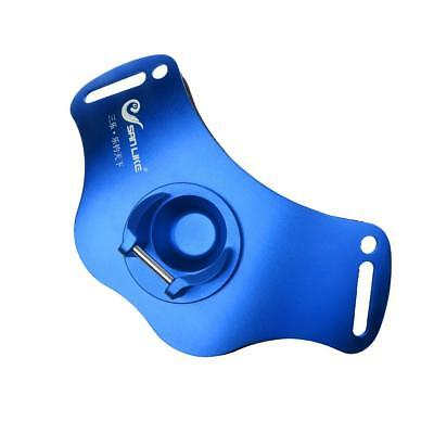 Stand Up Fishing Fighting Belt Gimbal Jigging Rod Holder - Blue