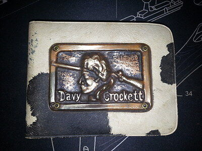 Vintage 1950's Disney Davy Crockett Childrens Wallet