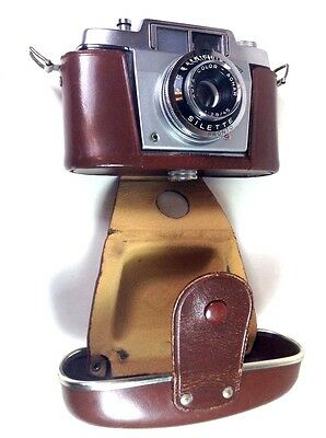 VINTAGE ANTIQUE 35MM AGFA SILETTE GERMANY CAMERA CIRCA 1950/60s