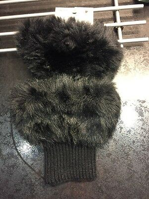 H&M Black Boot Cuffs New With Tags