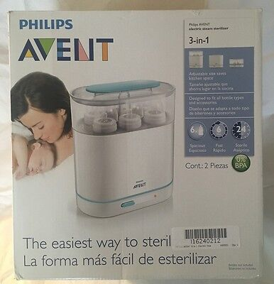 Philips AVENT 3-in-1 Electric Steam Bottle Sterilizer