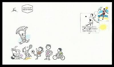 Sports,Racket game,Tennis,Israel 1997 FDC,Cover