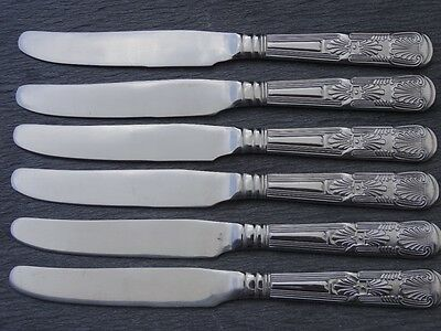 BRAND NEW Table Knives King's Pattern x 6 stainless steel