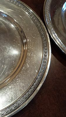 """Vintage Etruscan Sterling Silver Bread Plate by Gorham 6 1/4""""  A13577 8 availabl"""