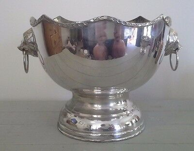 Vintage Large silver trophy, silver, trophy, NOT ENGRAVED