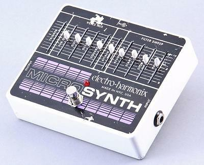 Electro-Harmonix Micro Synth Guitar Effects Pedal PD-2508