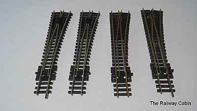 Peco N Gauge Track Point Turnouts Right Hand x 4 (d)