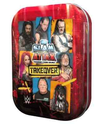 WWE Slam Attax NXT Takeover Mini Tins includes 39 cards + 1 Limited Edition card