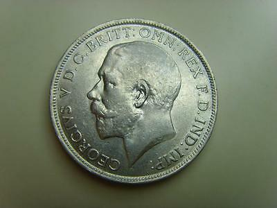1916 Silver Florin King George V British Coin Great Britain Half Crown