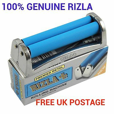 GENUINE PREMIER METAL 70/ 110mm RIZLA Brand Cigarette Tobacco Rolling Machine