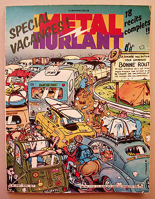 METAL HURLANT 76bis Special Vacances Margerin Clerc Chaland Masse Gillon Ouin…