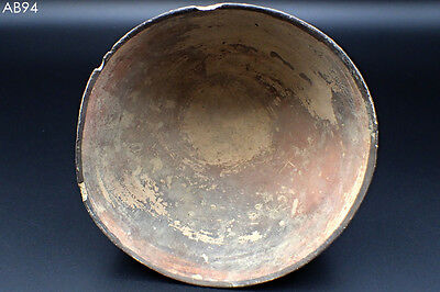 Ancient Teracotta Painted Pot Bowl WithDeer Stag Big Horns Indus Valley2500BC#94