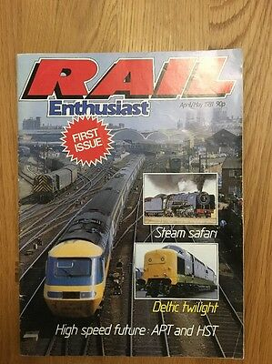 Rail Enthusiast First Issue 1981 Magazine