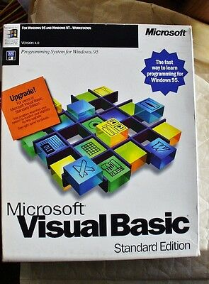 Microsoft Visual Basic programming system version 4 Standard Edition RETAIL BOX