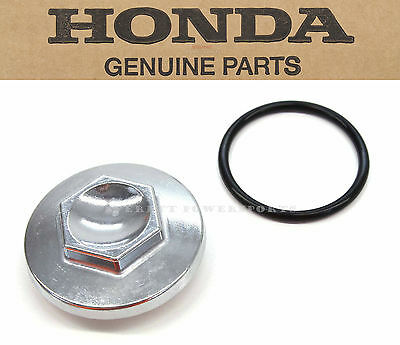 New Genuine Honda Oil Strainer Filter Cap & O-Ring  CH125 CH150 FSC600 OEM#L69 B
