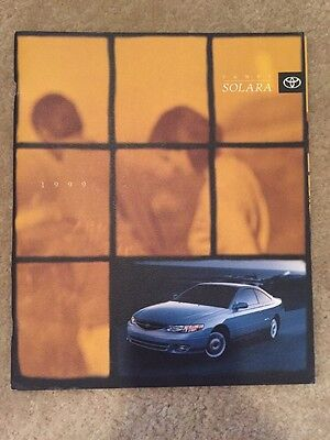 1999 Toyota Camry Solara Coupe Sales Brochure