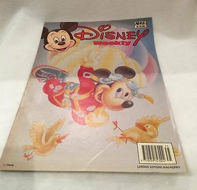 Disney Weekly Comic, Issue No. 16 - 1991 Walt Disney Collectable