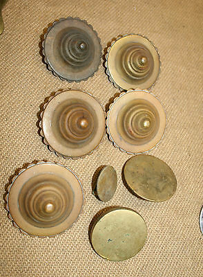 antique horse brass  Qty beehive rosettes