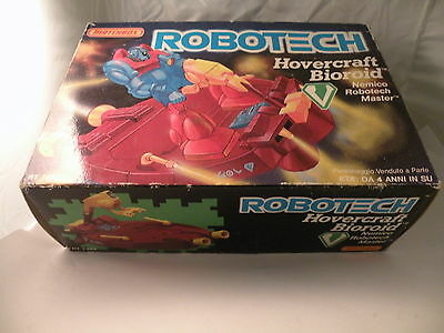 Macross Robotech Hovercraft Bioroid Matchbox 1985 Nuovo In Box