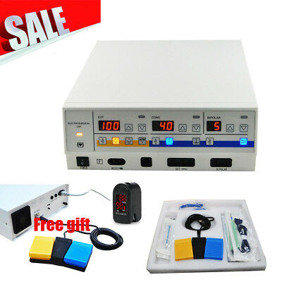 300W  Electrosurgical Unit electrotome Cautery Machine LEEP Electric Scalpel A+