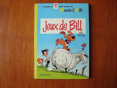 Boule Et Bill Tome 11 En Edition Originale /  Roba
