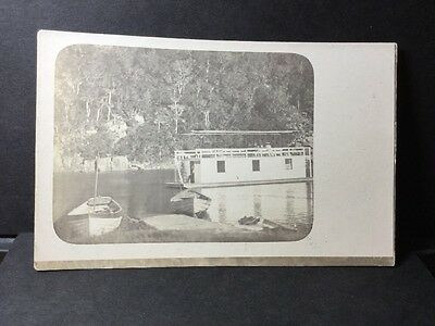 Houseboat Pc Unknown Area And Year. Ref 16/2985