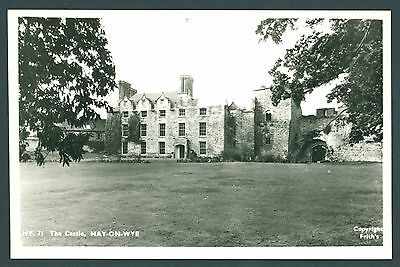The Castle, Hay on Wye. BRECONSHIRE