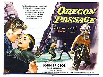 "Oregan Passage 16"" x 12"" Reproduction Movie Poster Photograph"