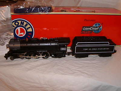 Lionel 6-81311 Alaska 4-6-2 LionChief Pacific #652 Locomotive & Tender O-31 MIB