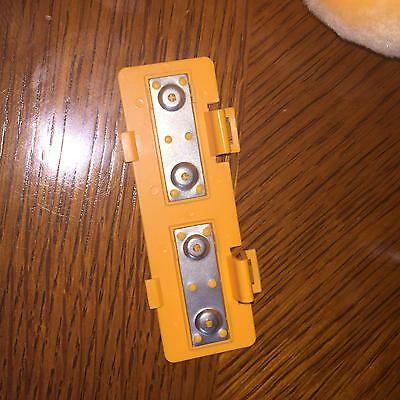 Vintage Grubby Battery Cover Part WOW 1985 Teddy Ruxpin Friend CLEAN