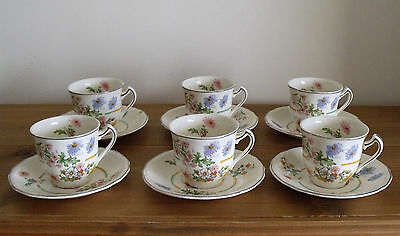 """Alfred Meakin Astoria Shape """"Marigold"""" Pattern Small or Childs Teaset (A/F)"""