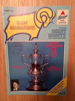 1985-86 Derby C v Crewe A FA Cup