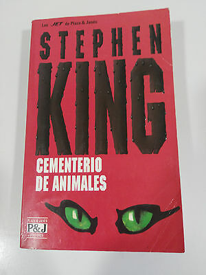 Stephen King Cementerio De Animales Libro Plaza & Janes Jet 481 Pags