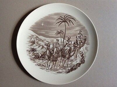 Vintage Spode China  - Christmas Plate Three Wise Men