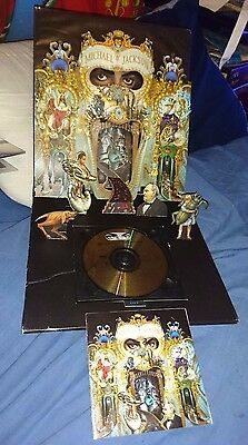 michael jackson official dangerous pop up cd collectors edition first printing