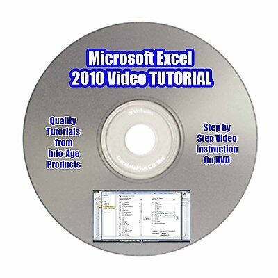 Learn Microsoft Excel 2010/2007 Quickly & Easily! VIDEO TUTORIAL - Part 1 *