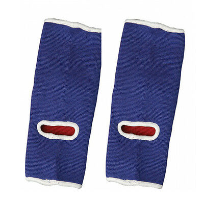 Adidas Reversible MMA Ankle Pads - Red/Blue