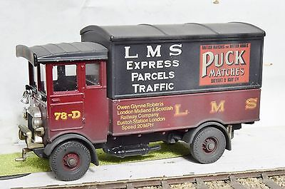 O Gauge Lms Puck Matches Aec Express Parcels Lorry  Weathered