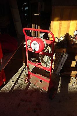 Fire Extinguisher Trolley With Bell.