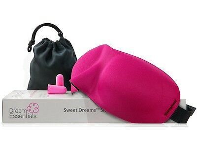 2ac1468fb Dream Essentials Sweet Dreams™ Sleep Mask w Carry Pouch and Earplugs - Pink