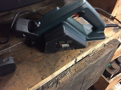 Black And Decker Wood Planer Electric