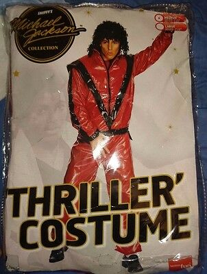 michael jackson official thriller outfit costume size medium very rare